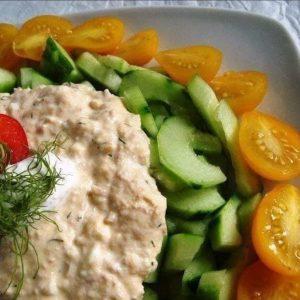 Egyszerű, vegán tonhalkrém